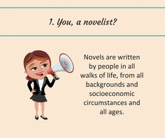Writing Tip #1. Who do you think you are, trying to write a novel?
