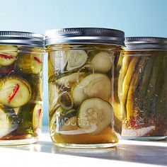 Quick Pickle Recipes by Karen Solomon -- Every Day with Rachel Ray