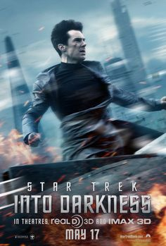 Benedict Cumberbatch is out for blood in the new #StarTrek #IntoDarkness poster.