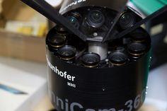 Die Kamera besteht aus zehn einzelnen Kameras, ... (Foto: Martin Wolf/Golem.de)