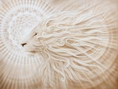 Leo Rising, lion painting by Artist-Andrew Gonzalez creates amazing transfiguration, esoteric and visionary work. All work is pinned directly from the artist website. Leo Constellation Tattoo, Leo Rising, Rising Sun, Lion Painting, Le Roi Lion, Lion Art, Visionary Art, Lion Of Judah, Animal Paintings