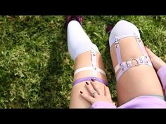 Pastel Studded Garter ♥ DIY - YouTube
