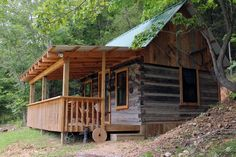 Lakeside Log Cabin [click for more] | Eminence, MO lodging ...