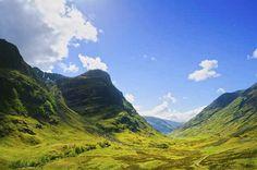Peru?   14 Places You'd Never Believe Were In Scotland... GLENCOE