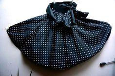 Vintage black skirt  1970s England  a massive by blingblingfling