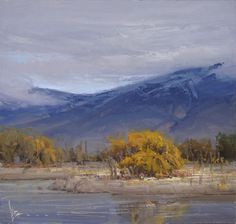 Autumn Hymn: Painting by Josh Clare