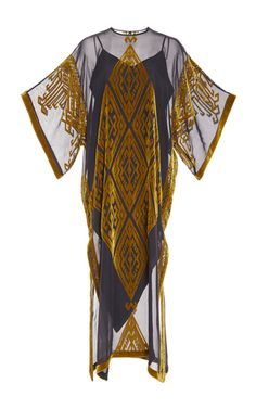 Sheer Caftan Dress by ALENA AKHMADULLINA for Preorder on Moda Operandi
