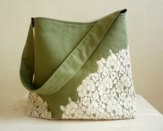 french lace bag