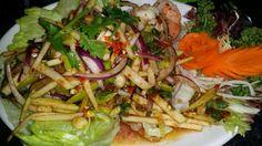 Pla Goong Apple Sod.. ( Apple Salad With Prawns)