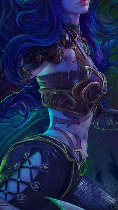 Fantasy Art Women, Demon Hunter, Reference Images, Die Hard, World Of Warcraft, Asd, Fantasy Creatures, Female Art, Cool Words