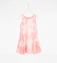 Image 1 of Tie-dye dress from Zara