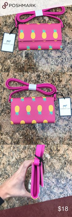Dabney Lee Crossbody! Brand New Dabney Lee Pineapple Patterned Crossbody. Pink is primary color. So cute for spring/summer! Brand New with tag! This item is from a store in shelter island heights, ny! Original price was $40 as indicated on tag! 🍍🍍🍍 Dabney Lee Bags Crossbody Bags