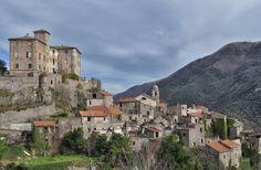 Balestrino, le village abandonné