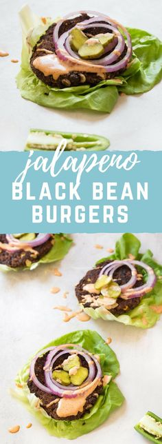 Healthy Recipes : Illustration Description Skillet Jalapeño Black Bean Burgers… the cast iron skillet is the game changer for cooking black bean burgers especially if you're vegetarian or vegan because skillet = perfect for the grill! Lunch Recipes, Vegetarian Recipes, Cooking Recipes, Healthy Recipes, Cooking Games, Dinner Recipes, Black Bean Burgers, Cooking Black Beans, Cooking Light