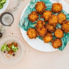 Sure, this recipe can make standard-size latkes, but the minis are just right for noshing while chatting.