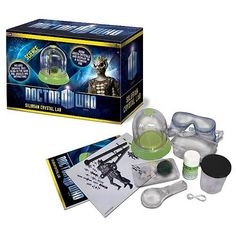 Doctor Who Silurian Crystal Lab Science Kit    http://www.entertainmentearth.com/prodinfo.asp?number=UTDW03=LY-012045602