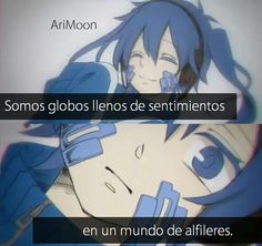 Read from the story Frases anime. C Anime, Anime Love, Kawaii Anime, Anime Chat, Tru Love, Spanish Phrases, I Hate My Life, Shinigami, Sad Quotes