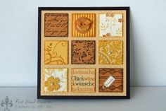Stampin' UP! Inchies gelb