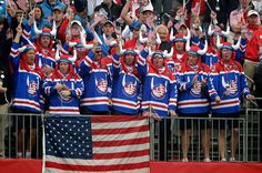The craziest fans at the Ryder Cup