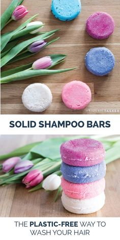 Solid Shampoo Bars - The Plastic Free Way To Wash Your Hair - Hannah Tasker { Simple Living | Slow Living | Zero Waste | Eco Friendly Lifestyle }