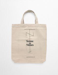 Our Tenue de Nîmes canvas shopper