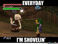 "Legend of Zelda ""Ocarina of Time"" Humor"