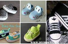 Crochet Sneaker Slipper Booties Free Patterns & Paid