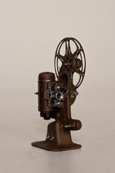 Antique Hand Cranked Movie Projector - 1930s - Lindstrom - 16 ...