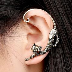 Cat Shape Earrings For Left Ear With Gift Box  - FREE  Just pay shipping