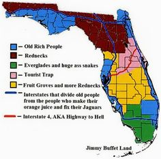 Things only a Floridian would understand. Traveling tips and problems