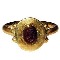 8th Century Merovingian Gemstone Ring