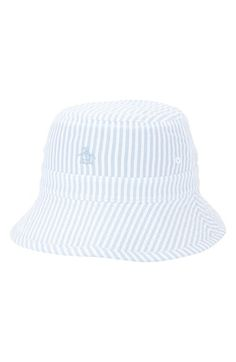 Men s Original Penguin  Ethan  Reversible Bucket Hat Penguin S 0cea772043b5
