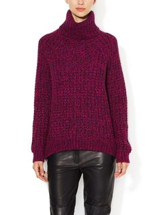 Waffle Knit Turtleneck Sweater from What to Pack: Weekend in the Country on Gilt