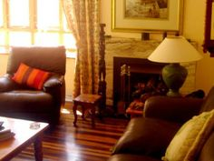Self catering accommodation, Kalk Bay, Cape Town Make yourself at home with a log fire in this comfy lounge area Log Fires, Lounge Areas, Cape Town, Bed And Breakfast, Catering, Comfy, House, Home Decor, Fireplace Set