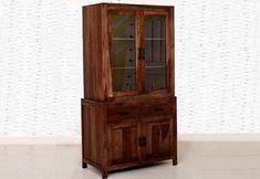 Crockery Unit: Buy Wooden Crockery Cabinet Online Upto OFF Buy Kitchen, Wooden Kitchen, Kitchen Cabinets, Crockery Cabinet, Crockery Units, Wooden Street, Units Online