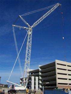 Demag 330 Ton Crawler Crane + Luffer $650K, 2004 Liebherr LTM1400-7.1, 2012 Liebherr LTM1200-5.1 Cranes For Sale, Crawler Crane