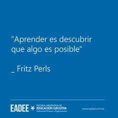 Fritz Perls Aprender Descubrir Posible