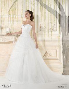 Taire | Villais Romantic  2016 Wedding Dress - 1