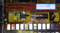 Cigarette prices in Milan, €5,20 in street vending machine