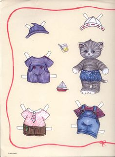 BOY and Girl Kittens by Henny Iversen page 1