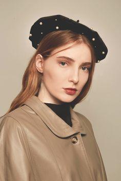 afde0fdb Handmade leather berets, velvet berets, beret hats by VertigoBerets