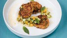 Zucchini Carpaccio mit roter Beete und Sauerrahm Zucchini Carpaccio, Salsa, Mango, Sous Vide, Grains, Rice, Chicken, Meat, Food