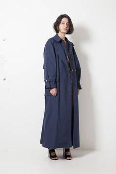 Nehera CUBO washed poplin coat - wendela van dijk
