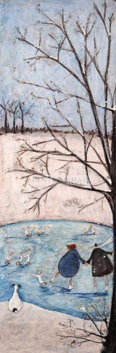"Panter & Hall: Sam Toft - ""Winter: It's My Favourite"" 2015"