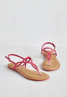 Know Only Too Swell Sandal in Fuchsia