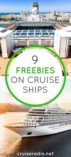 Subscribe to Cruise Radio News by Email It's no doubt in this economy we are pinching pennies now more than ever… yes, even on vacation. A common misconception when you take a cruise is that everything costs extra money. Wrong! Here are a few ways to get free stuff on cruise ships. Chec…