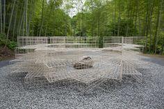 Mushizuka (Mound for Insects) | Architecture | kengo kuma and associates