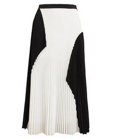 PROENZA SCHOULER - Pleated Cloque Skirt