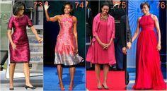 michelle obama róż