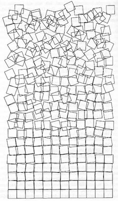 Georg Nees I think this is a drawing, not a wire sculpture, but it has a similar feel.